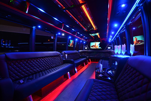 40 Person Party Bus Rental Chandler