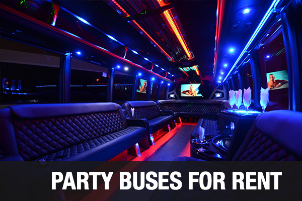 Party Buses For Rent Chandler