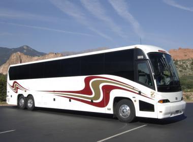 Chandler 50 Passenger Charter Bus